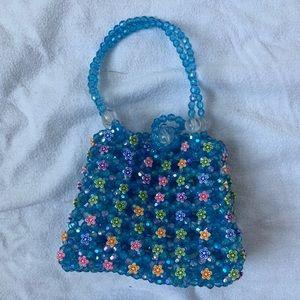 Mini beaded purse